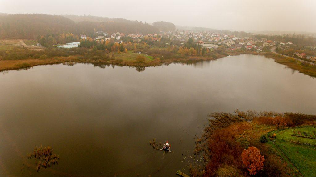 Fot. Byczkowski, Inaktywacja fosforu naJeziorze Mielenko